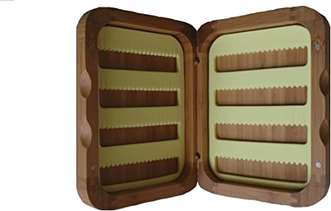Bamboo Presentation Classic - Caja para Moscas de Pesca ...