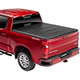 """Gator ETX Soft Tri-Fold Truck Bed Tonneau Cover   59115   Fits 2019 - 2020 Chevy/GMC Silverado/Sierra 1500 """"New Body Style"""" w/o Factory Side Storage Boxes 5'8"""" Bed   Made In The USA"""