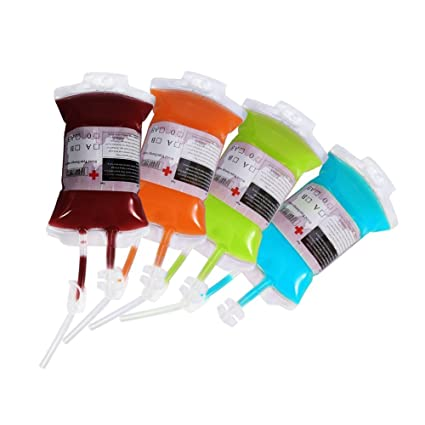 Bolsa de Sangre Reutilizable para Bebidas Bolsa de Infusión ...