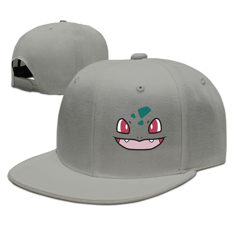 HNN Unisex Happy Smiley Face Flat Baseball Caps Hats