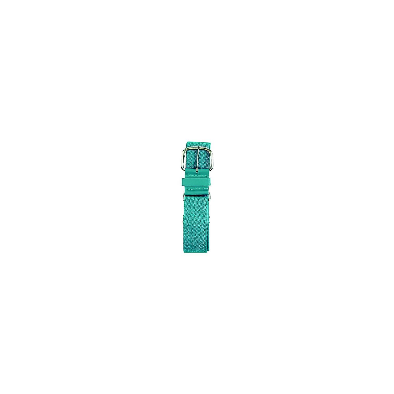 Champro (チャンプロ) 伸縮性野球用ベルト、1.5インチ合成タブ付き B0000C1GUF 28-52-Inch,ティール