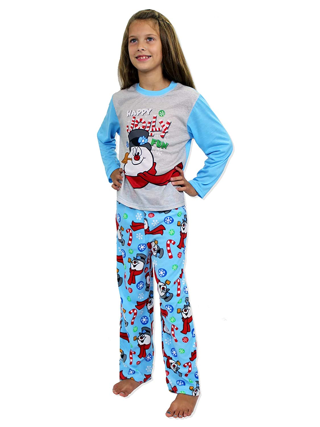 Frosty the Snowman Christmas Holiday Family Sleepwear Pajamas (Adult/Kid/Toddler) manufacturer