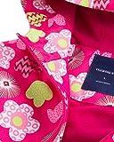 Big Girl's Warm Fleece Lined Floral Waterproof
