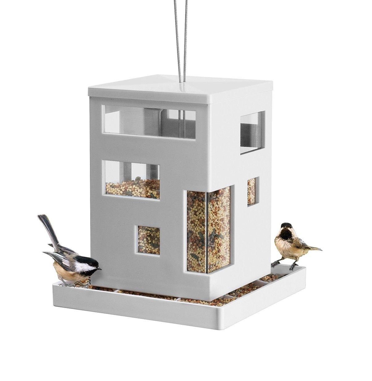 Umbra 480290-660 Bird Cafe Feeder, weiß weiß
