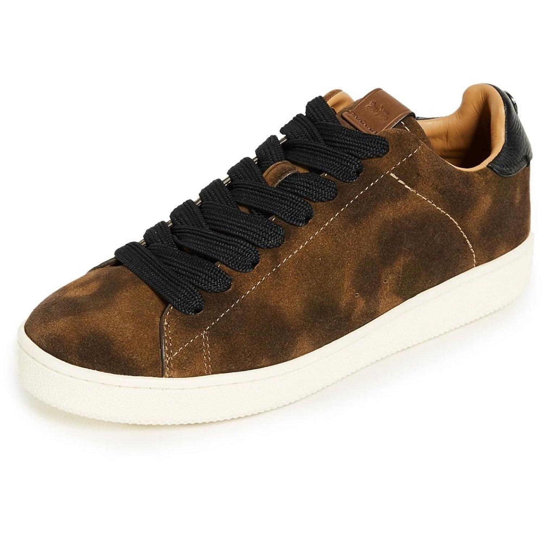 (コーチ) Coach New York メンズ シューズ靴 スニーカー C101 Low Top Sneakers [並行輸入品] B07C7YN8FF