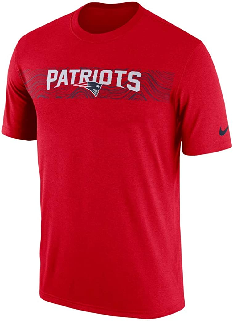 Nike NFL New England Patriots Mens On-Field Sideline Seismic T-Shirt