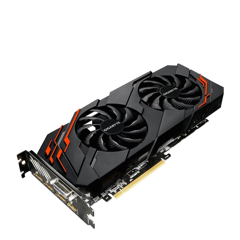 Gigabyte GV-N107TWF2-8GD GeForce GTX 1070 Ti 8GB GDDR5 ...