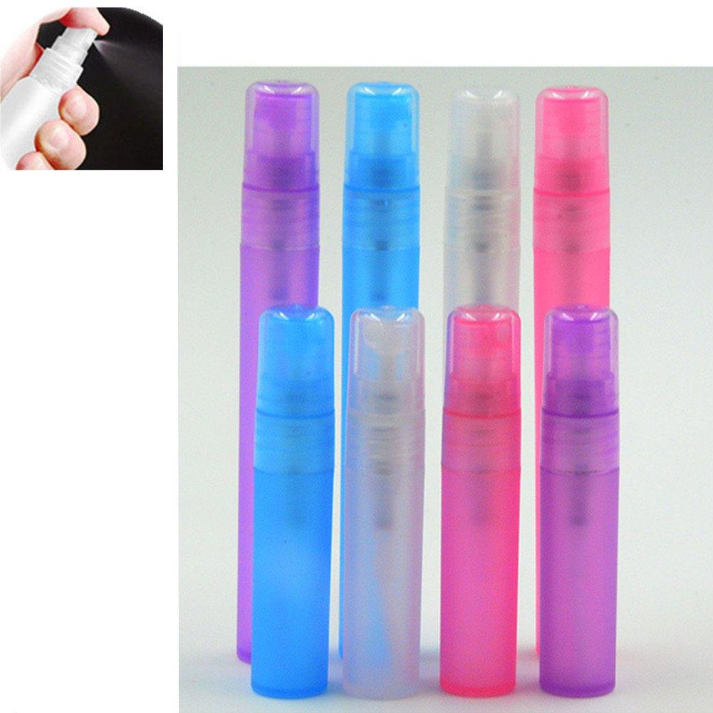 Distinct® 4pcs 10ml botellas de aerosol de perfume vaciar atomizador plástico pluma viaje recargable mini: Amazon.es: Hogar