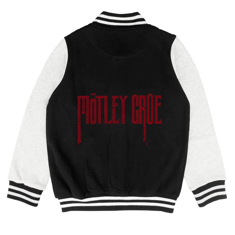 Girls Varsity Letterman Jacket Baseball Sweatshirt School Coat Cotton Rock Music Band Hard Rock