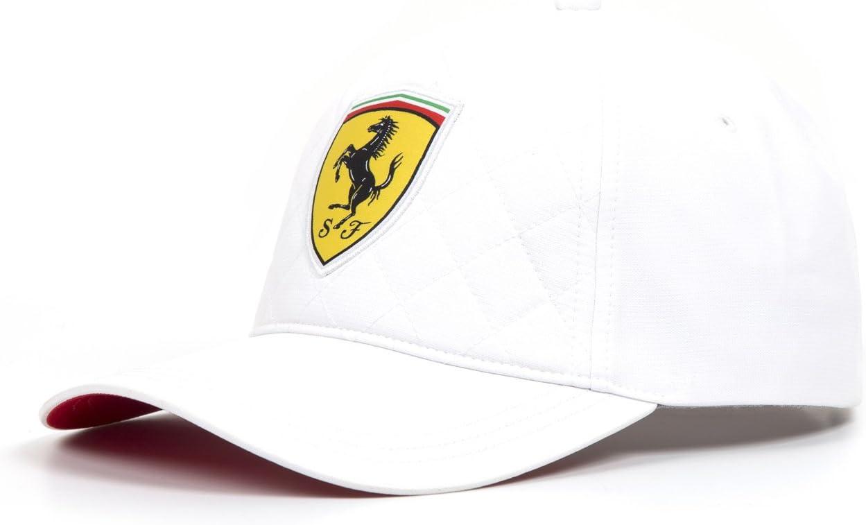 Ferrari Gorra de gorro de punto de color blanco Edredón fórmula 1 ...