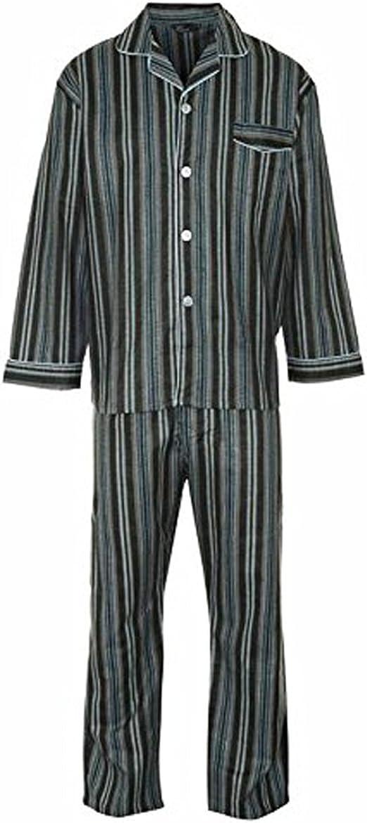 Juego de para Hombre de algodón Pijama de Franela Pijama ...