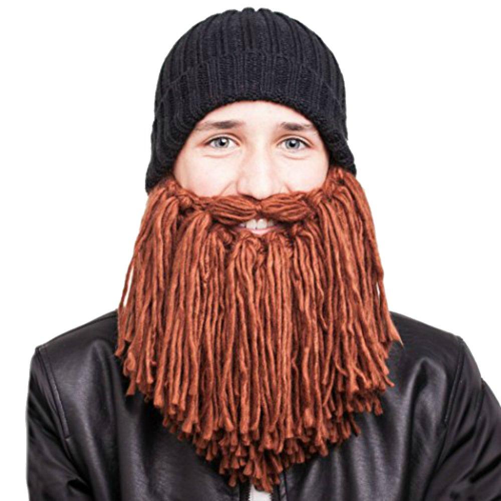 Amazon.com  Beardo - Short Viking Beard Hat (Kids)  Clothing f7d8b07b652