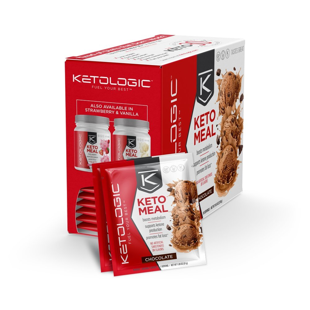 Amazon.com: KetoLogic Keto Meal Replacement MCT Shake – Promotes Weight Loss/Suppresses Appetite ...