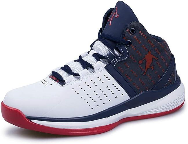 Hombres de Baloncesto Zapatos par MIDIE Corte Zapatillas de ...