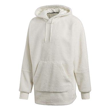 adidas Originals - Sudadera - para Hombre Blanco L: Amazon.es: Ropa y accesorios