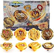NeschToy Bey Battle Burst Gyro Attack Blades Metal Fusion Evolution Combination with Arena, Launchers Grip &am