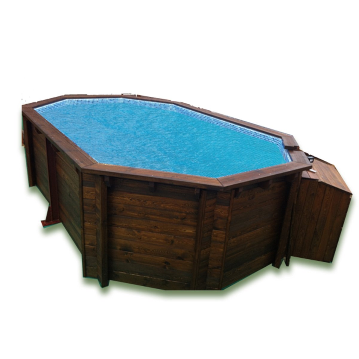 K2O Piscina octogonal 488 x 317 x 128 cm + depuradora de arena: Amazon.es: Juguetes y juegos