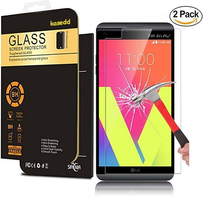K7 - Protector de pantalla para LG K7, LG K7, LG Stribute 5, Kaseberry Kasedd, protector de pantalla antirreflejos para LG K7, LG Tribute 5/LS675 (2 unidades): Amazon.es: Electrónica