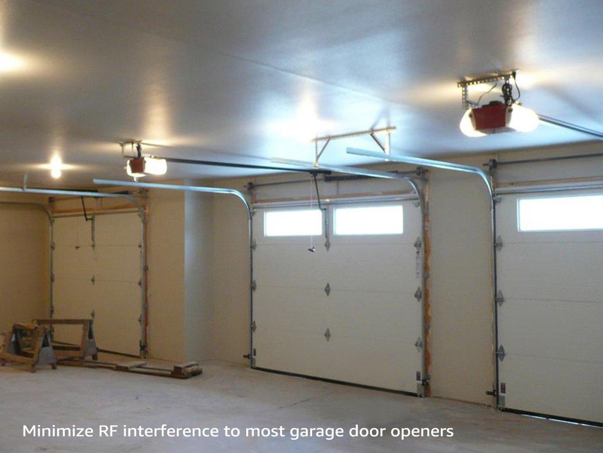 Torchstar Garage Door Opener 15w 100w Eqv A19 1600lm Ultra