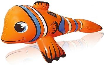 TOYLAND® Pez Payaso Inflable Gigante Ride-on Pool Toy ...