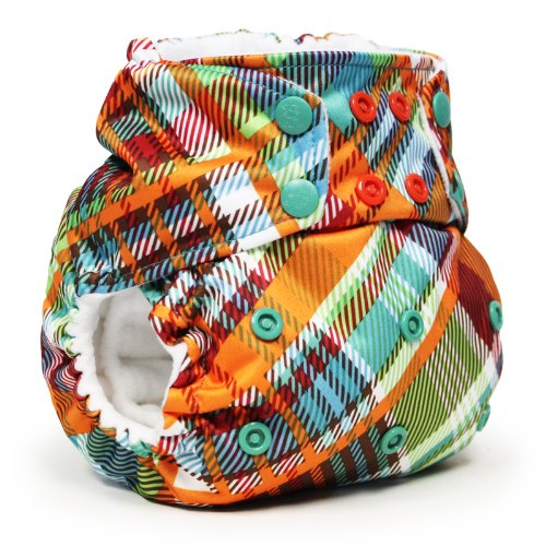 (Rumparooz One Size Cloth Pocket Diaper Snap, Quinn)