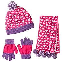 Toby & Company Big Girls' Heart Jacquard 3 Pc Set