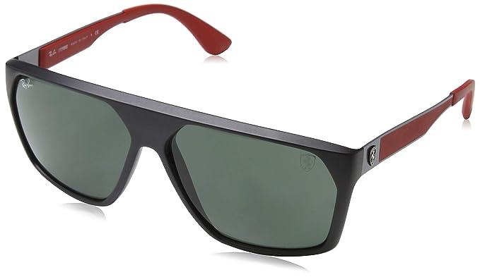 RAY-BAN 0RB4309M Gafas de sol, Matte Black, 59 para Hombre ...