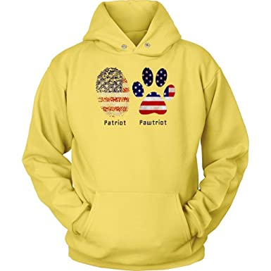 59b52789d Image Unavailable. Image not available for. Color  Undogitional Love Patriot  Pawtriot Veterans and Dogs Veteran Day Gift Hoodie