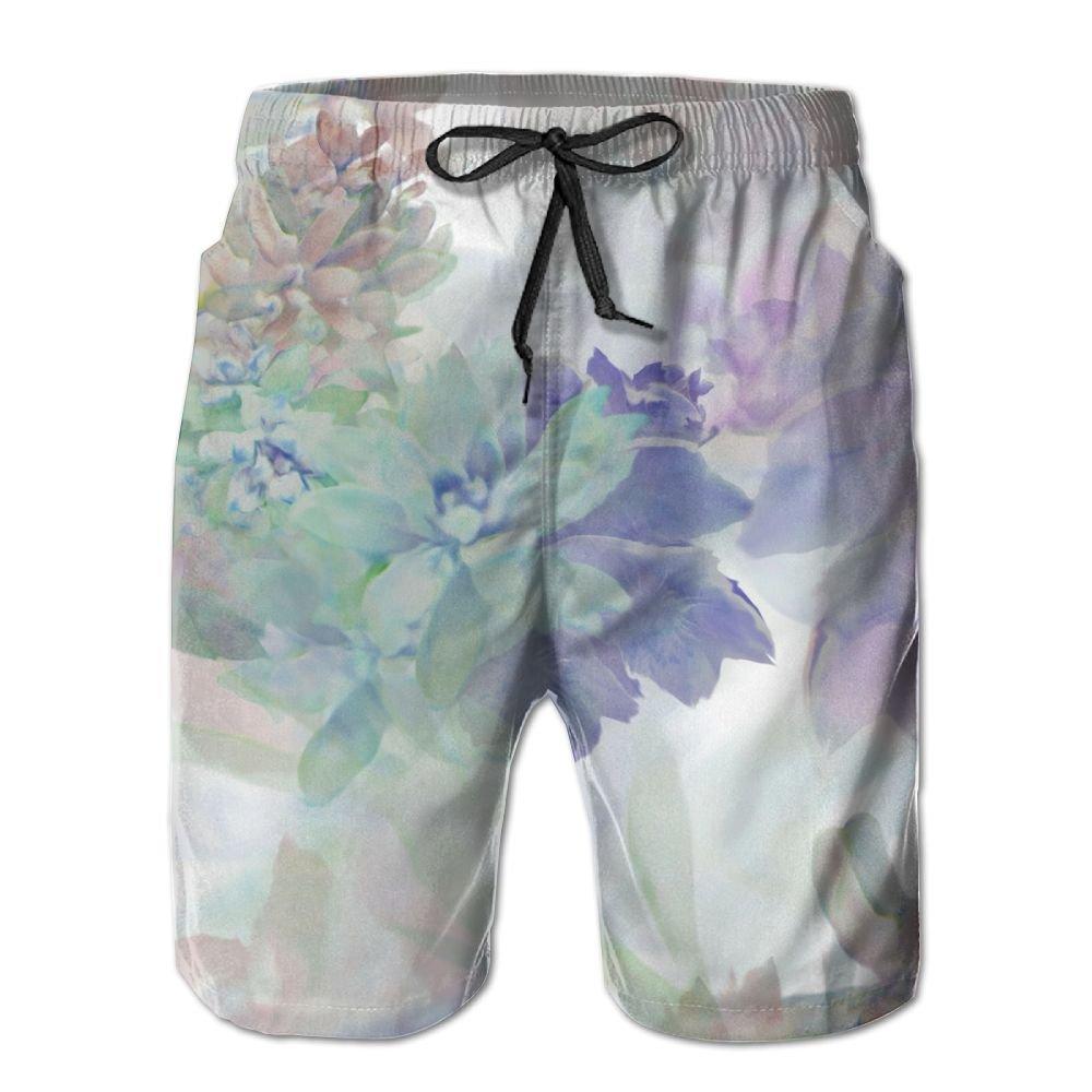 Sunshine Adding Lettering To Your Artwork Mens Beach Shorts Elastic Waist Pockets Lightweight Swimming Board Short Quick Dry Short Trunks