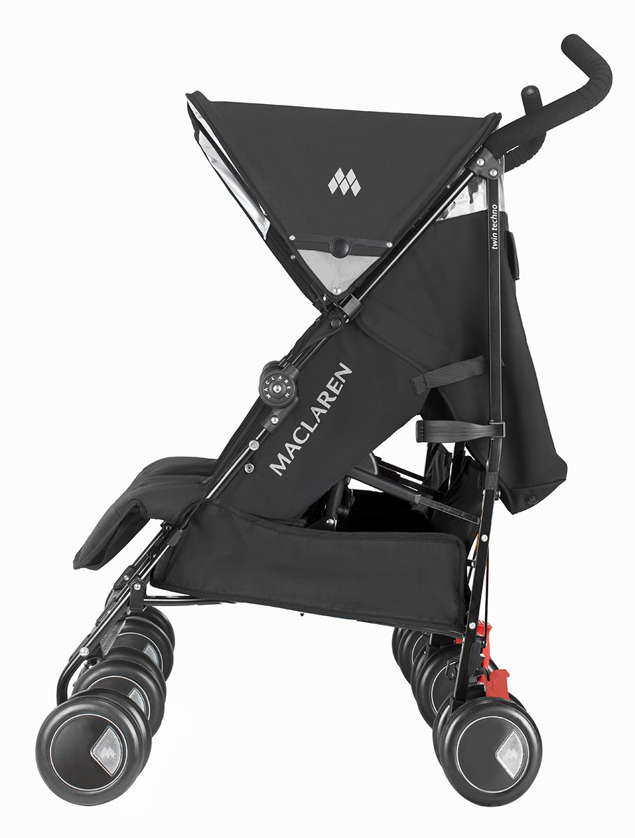 Maclaren Twin Techno - Silla de paseo, color negro