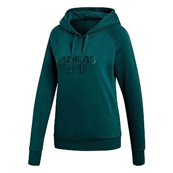 adidas Ess Allcap Oh H Sweat-Shirt À Capuche Sport Femme  Amazon.fr ... 711d556ed20