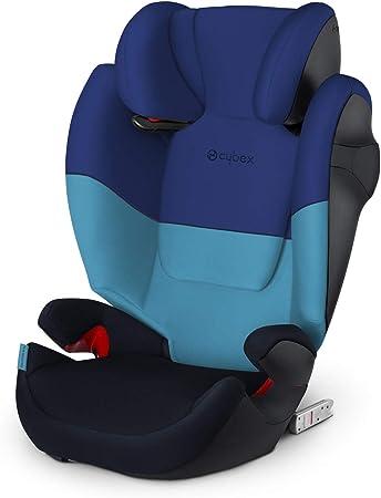 Cybex Silver Solution M Fix 519001117 Silla De Coche Grupo 2 3 Para Niños Para Coches Con Y Sin Isofix Colección Color 2021 Azul Blue Moon Amazon Es Bebé