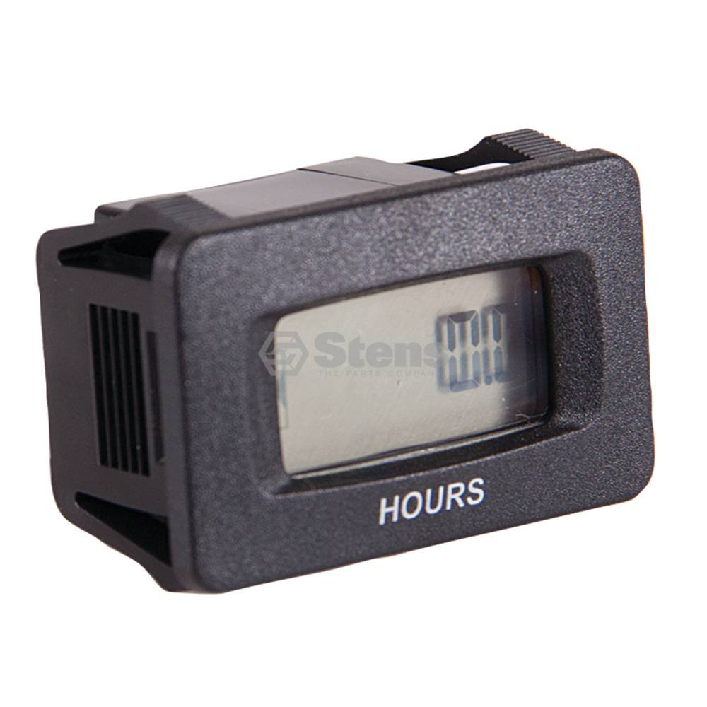 Stens 435-711 Universal DC Hour Meter, AC/DC Input, Non Polarized, Replaces SenDec: 804-200, N330-0200