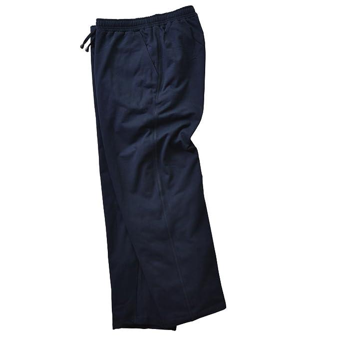 Adamo Fashion Pantalón chándal Largo en Azul Marino: Amazon.es ...