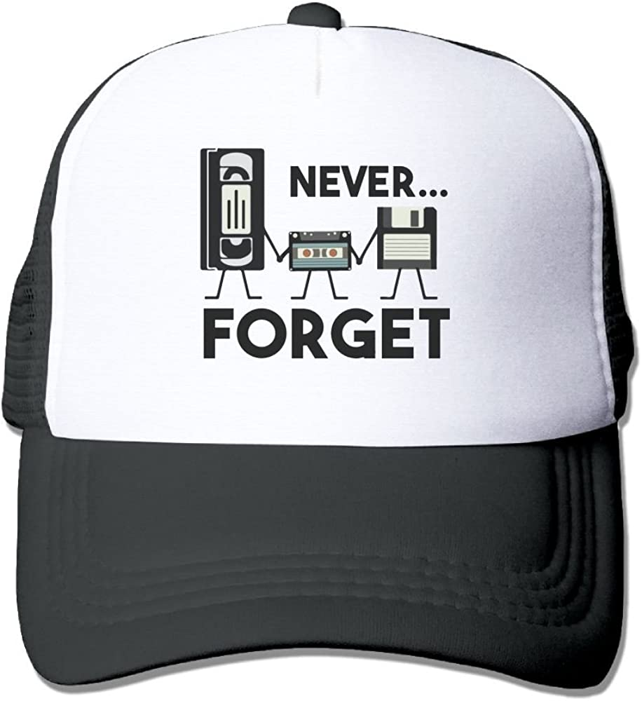 FeiTian Never Forget Simple Baseball Caps For Adults Casual Great For Travle Hiking Sunmmer Hats