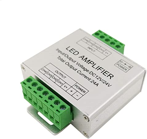12A 24A 30A LED IR RF Controller Steuerung Fernbedienung LED RGB Strip DC12V 24V