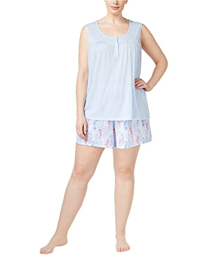8239f8377c Charter Club Women s Tank Top and Boxer Shorts Mix-It Pajama Set ...