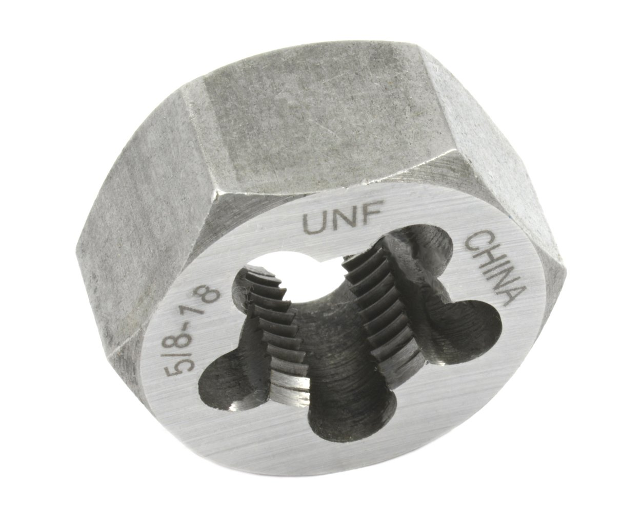 5//8-Inch by 18-Inch Forney 21184 Pipe Die Industrial Pro UNF Hex Re-Threading Carbon Steel Right Hand
