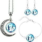 DISNEY THE NIGHTMARE BEFORE CHRISTMAS SALLY CHOKER AND EARRING SET NEW