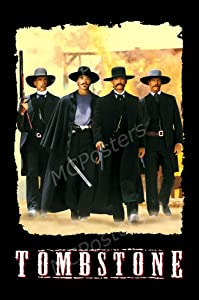 "MCPosters Tombstone 1993 GLOSSY FINISH Movie Poster - MCP283 (24"" x 36"" (61cm x 91.5cm))"