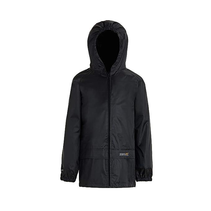 0cc9b04bdf9 Regatta Unisex Kids Storm Break Waterproof Jacket  Amazon.co.uk  Clothing