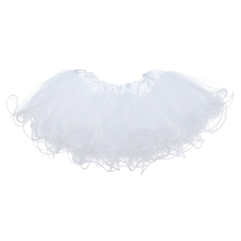 Newborn - 3mo. My Lello Baby Tutu Ruffled Scallop Edge Skirt 5-Layer 1705-430