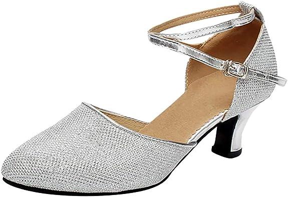 Débardeur Femmes Diamant Plateforme Bride Cheville Sandales Talon Haut Bloc Mariage Chaussures