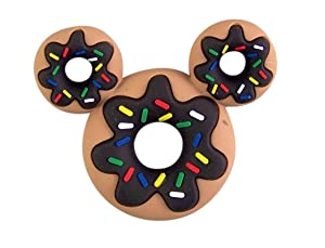 Mickey Mouse Donut Shaped PVC Magnet