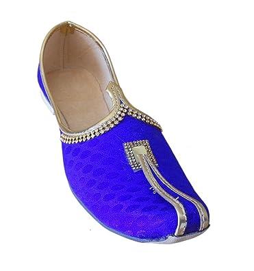 Kalra Creations - Zapatillas de estar por casa de Seda para hombre, color, talla 40.5 EU M