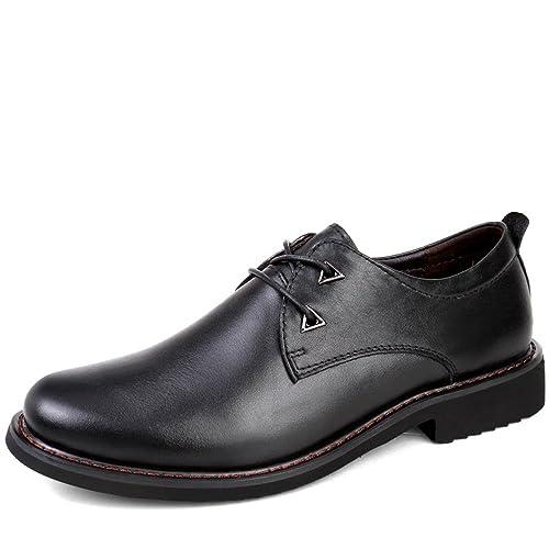 Amazon.com: keepblance Zapatos de piel Casual Business para ...