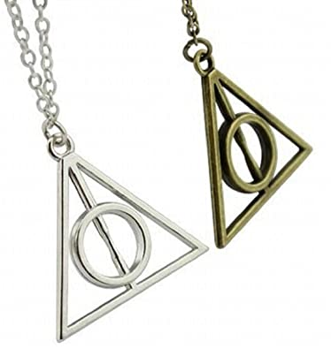 Chamber37 K Illuminati Pendant Necklace Bronze Silver Amazon