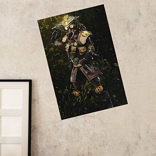 Jacobera APEX Legends Poster Wall Decal Sticker, Wall Art Mural Home Decor for Bedroom Livring Room(Lifeline)