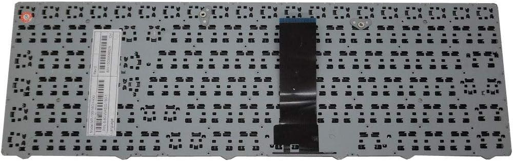 Laptop Keyboard for CLEVO WA50SFQ MP-13M1300-4307 United States US Black Frame