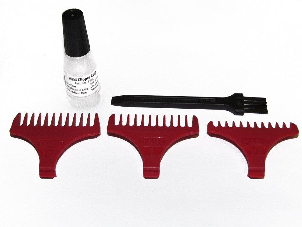 Wahl Detailer 3 Comb Accessory Pack (Extra Wide T-Blade)